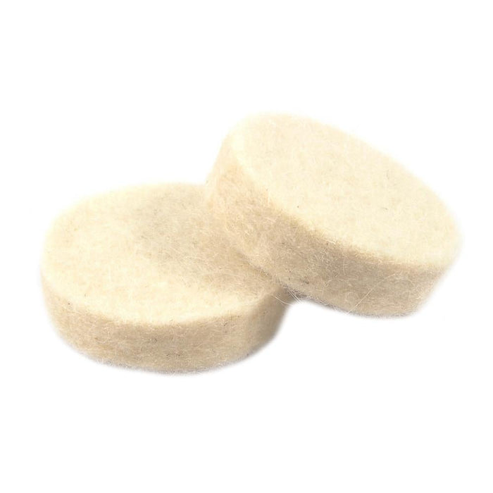 "Forney Polishing Wheel, Felt Replacement, 1"" (2-Pack)"