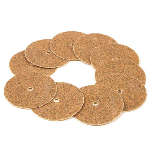 Forney 10-Piece Sanding Disc Replacement Set, Medium Grit, 7/8""