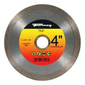 Forney Diamond Tile-Cutting Blade, 4""