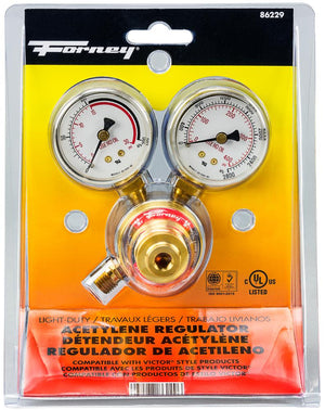 "150 Series Acetylene Regulator, 1-1/2"" Rear Mount"