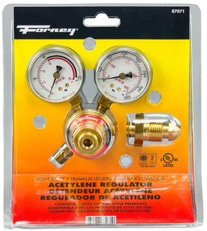 "150 Series Acetylene Regulator, 1-1/2"" Side Mount"