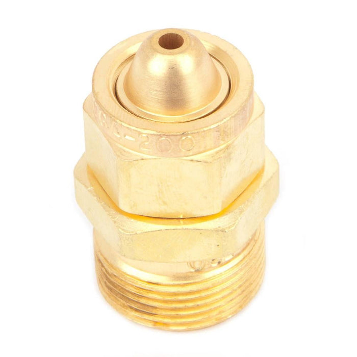 Cylinder to Regulator Adapter, CGA-200 to CGA-520