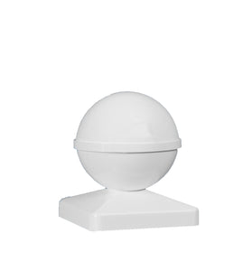 5x5 BALL PVC POST CAP $6.78 each