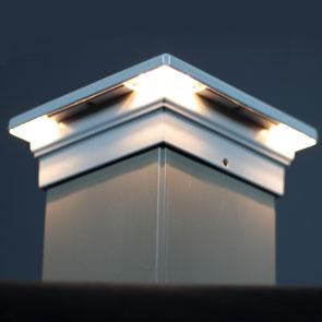 Neptune Flat Top LED, 12 Bulbs | Aurora Deck Lighting