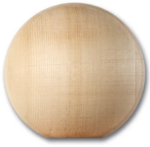 Nantucket Cedar Ball Finial | Nantucket Post Cap