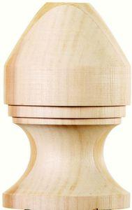 Nantucket Cedar Eel Point Finial | Nantucket Post Cap