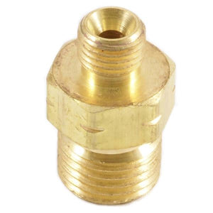 "Oxygen Fuel Gas Coupler, ""B"" Inlet and ""A"" Outlet Thread"