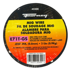 "E71T-GS Self, .030"" x 2 lbs., Steel MIG Welding Wire"