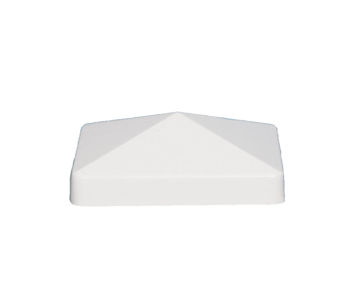 4x4 PYRAMID PVC POST CAP $1.67 each