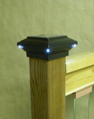 Aries Solar Post Cap Light | Aurora Deck Lighting
