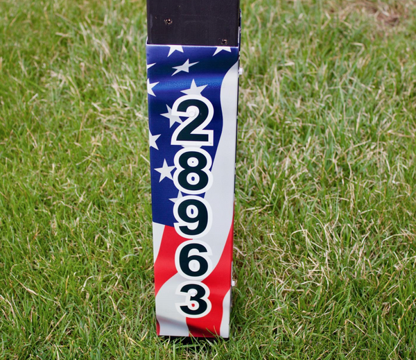Patriotic Edition Custom Number
