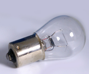 9 SMD-LED Bayonet Bulb, 1.6W Warm White
