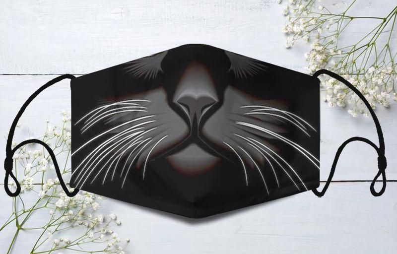 Cat Face Mask - 10