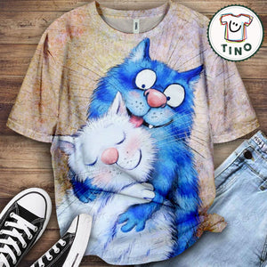 Cat Urban Love You T-Shirt 32