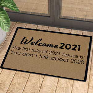 Doormat for New year