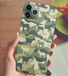 Goat 3D Camo Phone Case