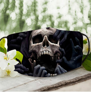 Skull Smoke Face Mask