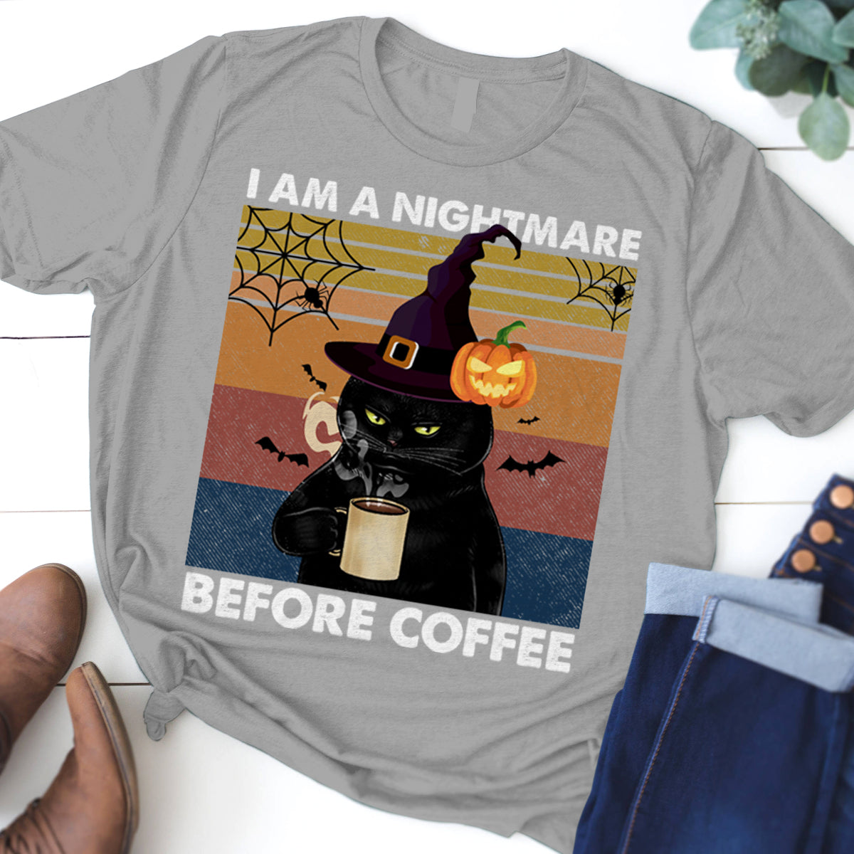 I AM A NIGHTMARE BEFORE COFFEE