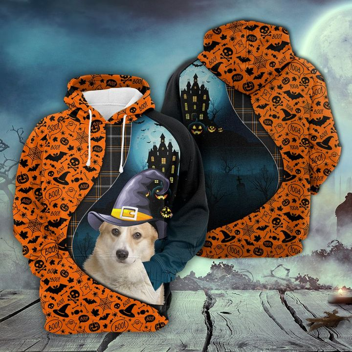 CARDIGAN WELSH CORGI AND HALLOWEEN