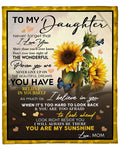 To My Daughter Blanket 13