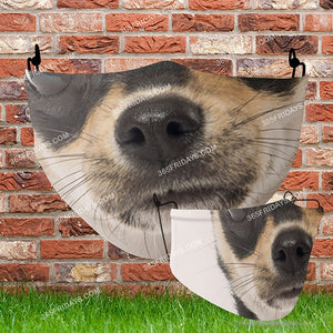 Dog Face Mask H4