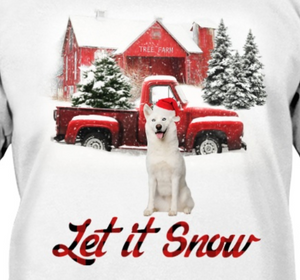 Let It Snow - Siberian Husky