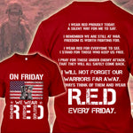 We wear RED on Friday