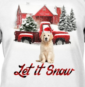 Let It Snow - Golden Retriever 1