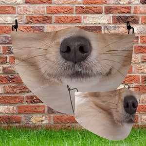 Dog Face Mask H31