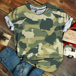 Turkey Camo T-shirt