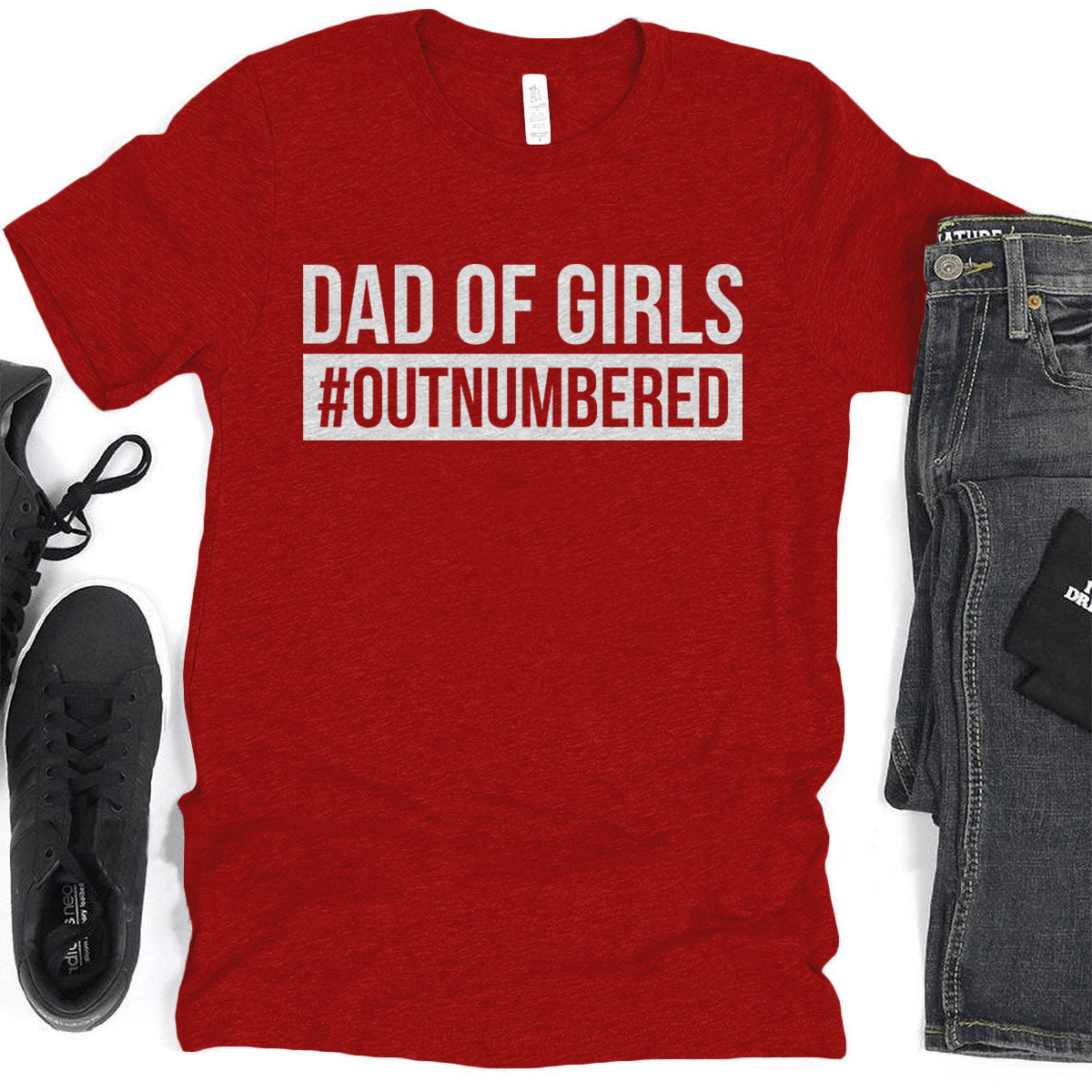Dad of girl #outnumbered