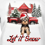 Let It Snow - Yorkshire Terrier 2