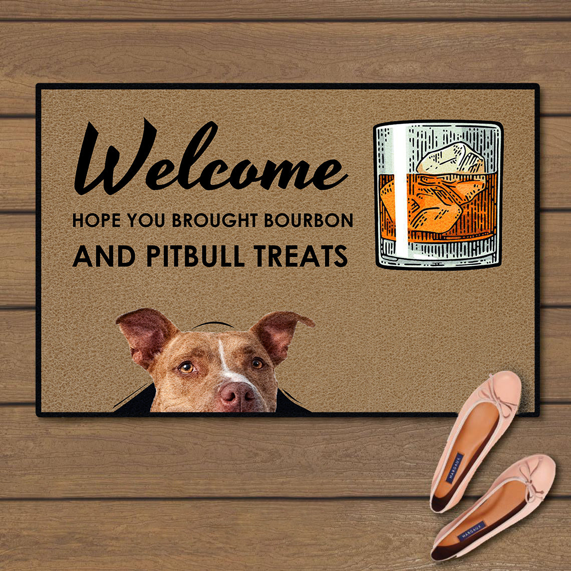 Welcome hope you brought bourbon and pitbull treats