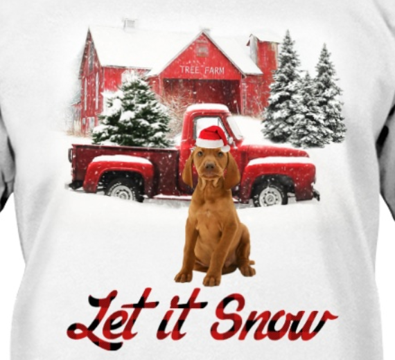Let It Snow - Vizsla