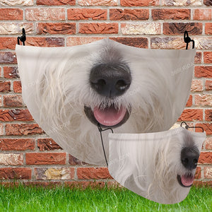 Dog Face Mask H25