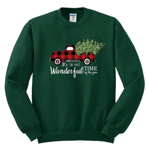 Christmas it's the most wonderful time of the year Sweatshirt 2