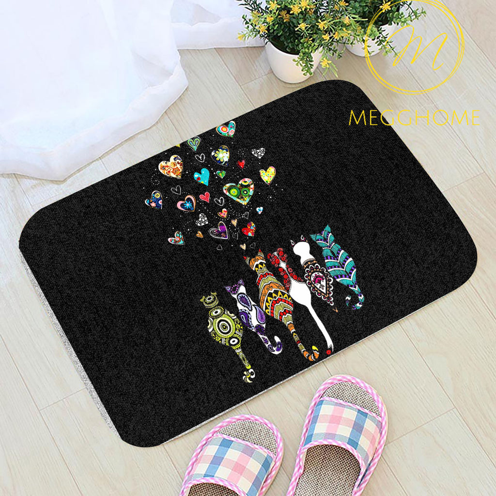 Love Cats Love Me Doormat 2