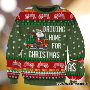 DRIVING HOME FOR CHRISTMAS XC01 SWEATER