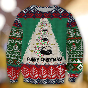 CAT FURRY CHRISTMAS DA01 SWEATER