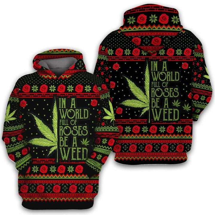 UGLY SWEATER ROSE WEED