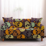 SKULL SOFA COVER ELASTIC STRETCH MODERN CHAIR COUCH COVER SOFA