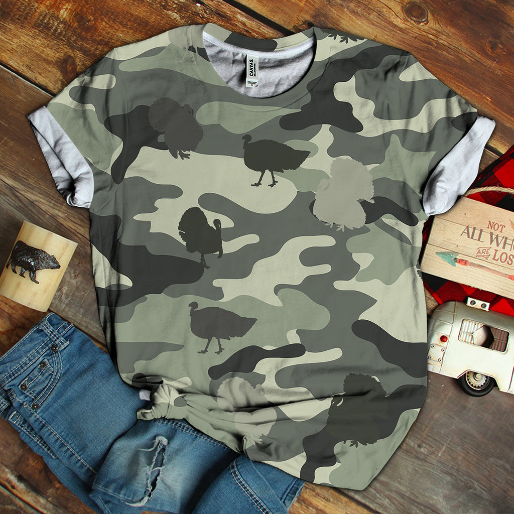 Turkey Camo Unisex Shirt
