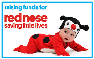 LIL' RED NOSE DAY LADYBUG BABY FUNDRAISER