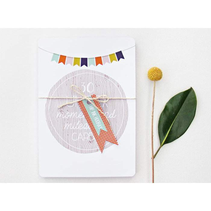 Beautiful Baby Milestone Cards