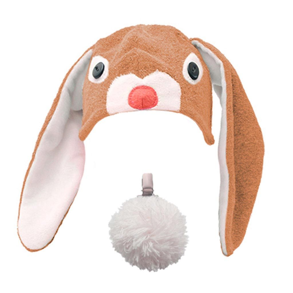 Kids brown Bunny Beanie Hat