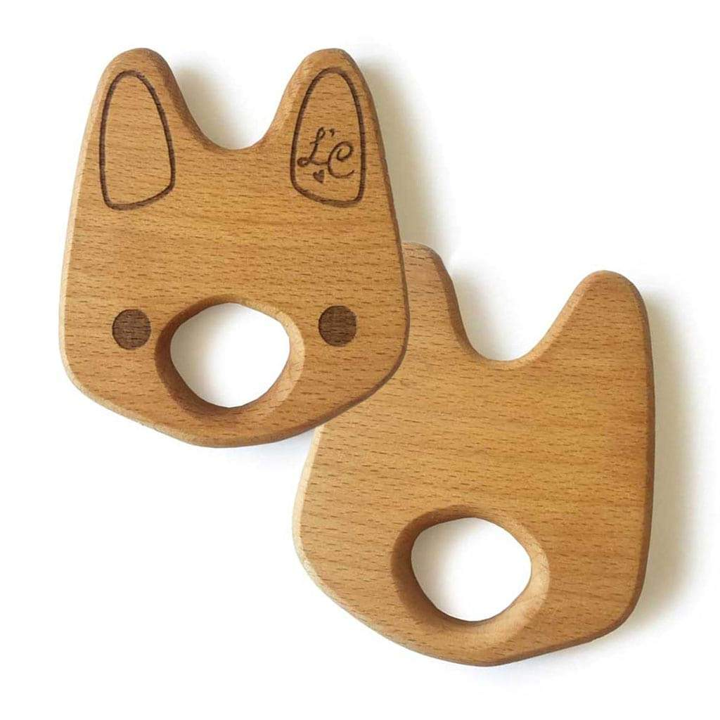 Organic Wooden Baby Gift Toy Teether