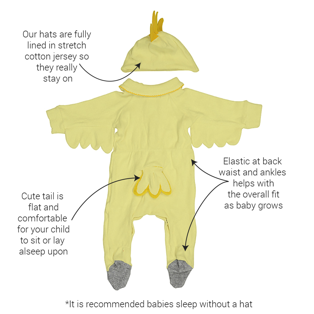 Halloween Bird Costume for Baby