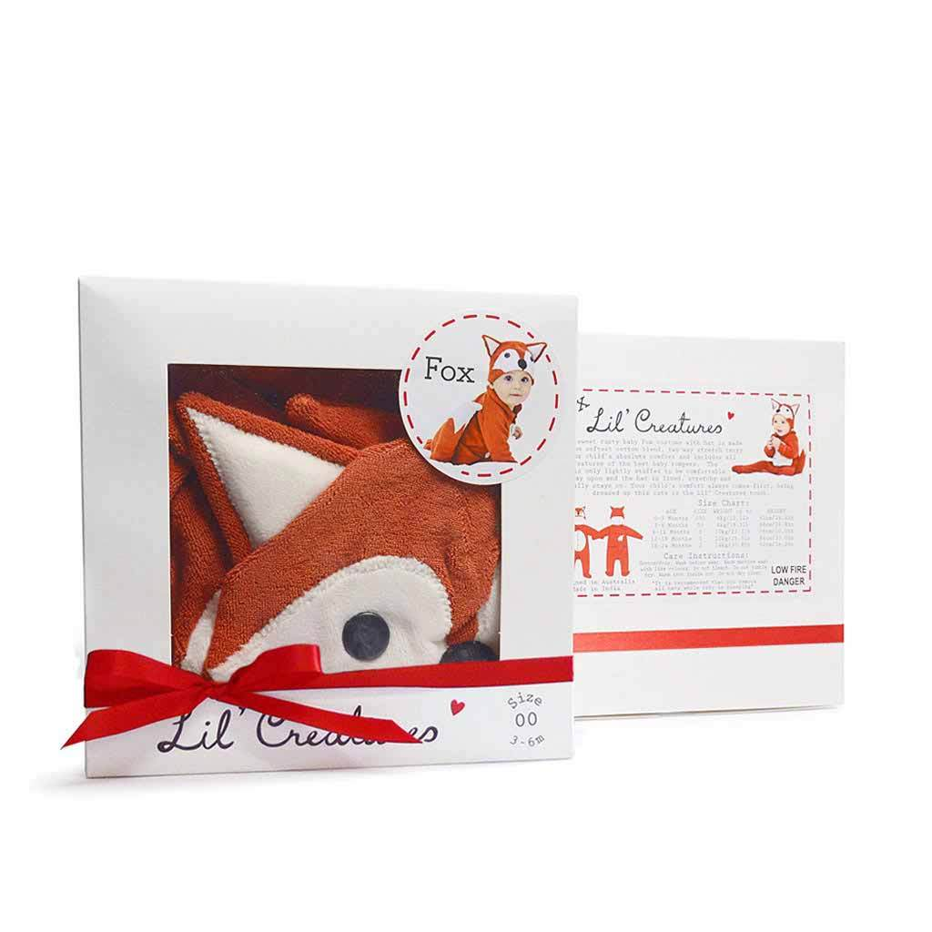 Unique Fox Baby Gift