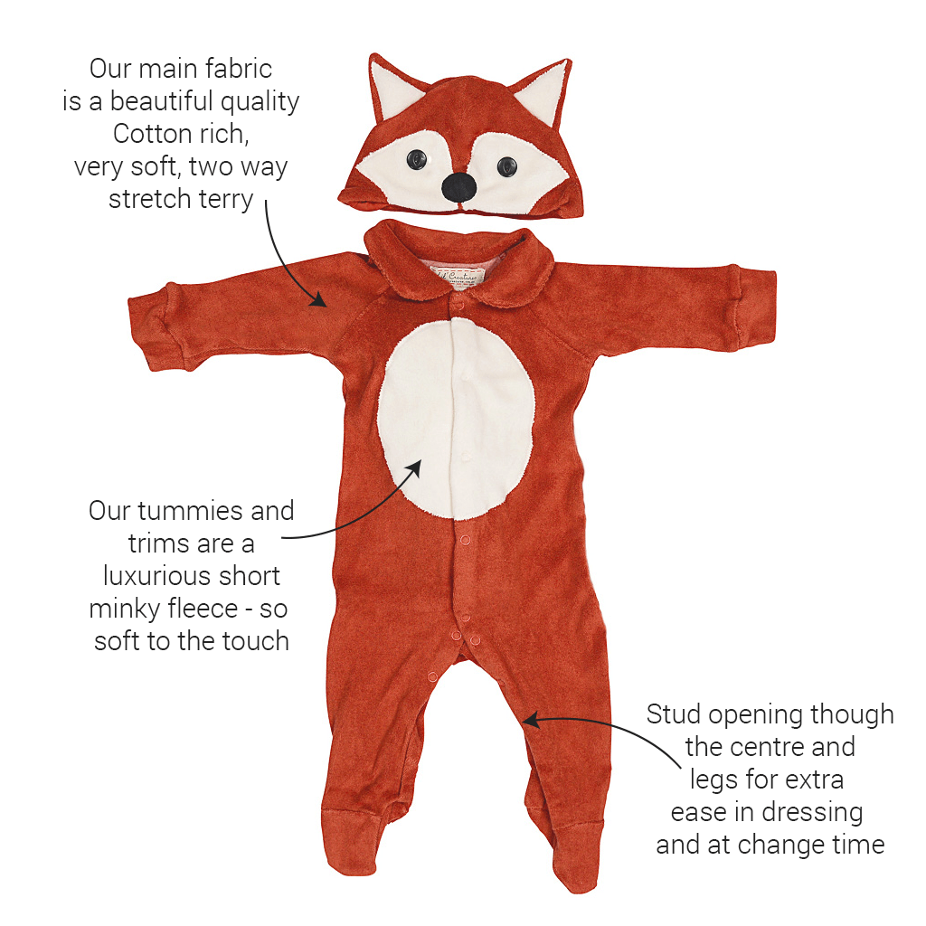 Lil' Fox Costume for Baby