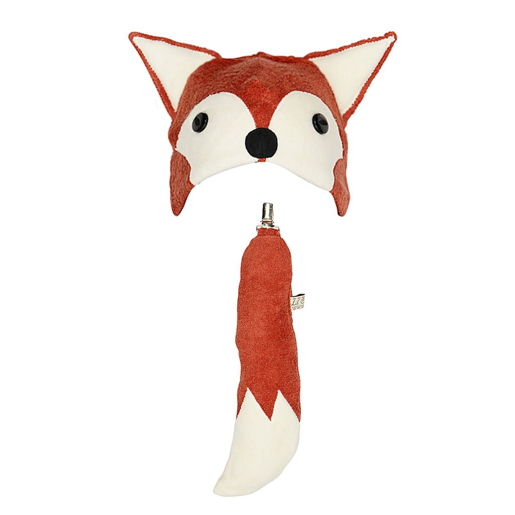 Kids Cute Fox Hat with Fox Tail